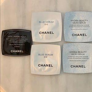 NIB Chanel bundle of four minis